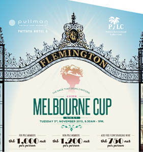 Melbourne Cup at the Pullman Hotel